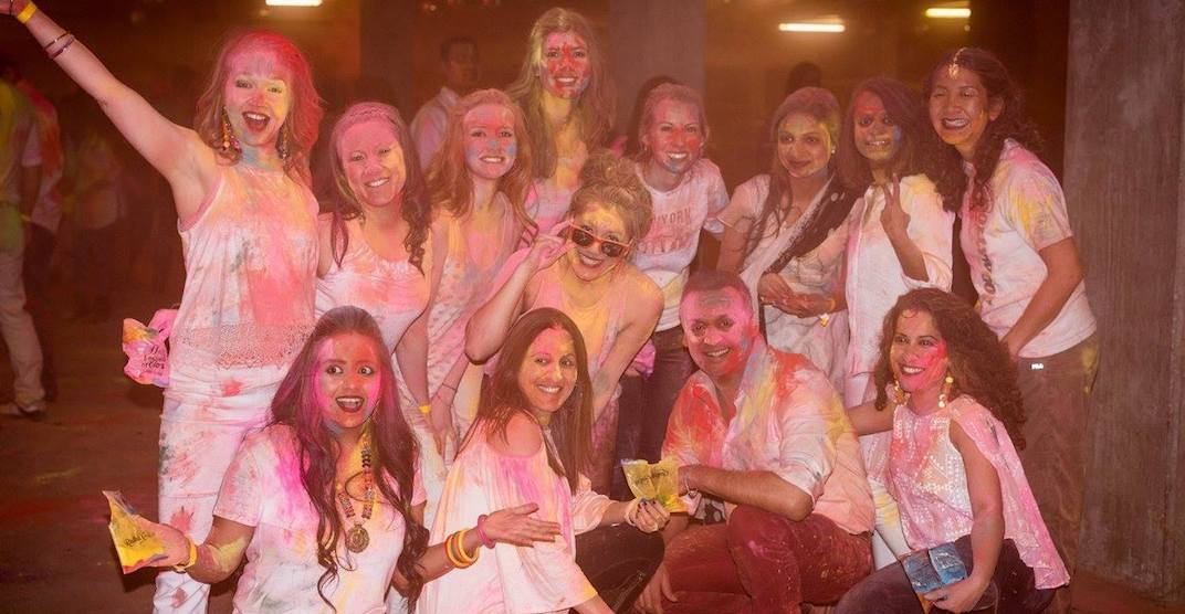 Holi Hungama Festival of Colours event happening in Calgary this March