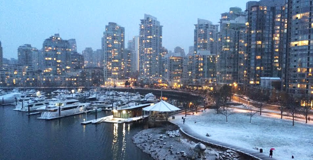 Environment Canada issues second snowfall warning... 10 cm now expected for Vancouver