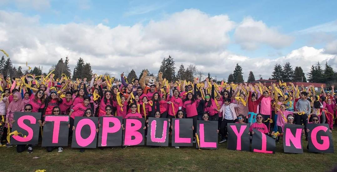 Anti bullying flash mob 2017