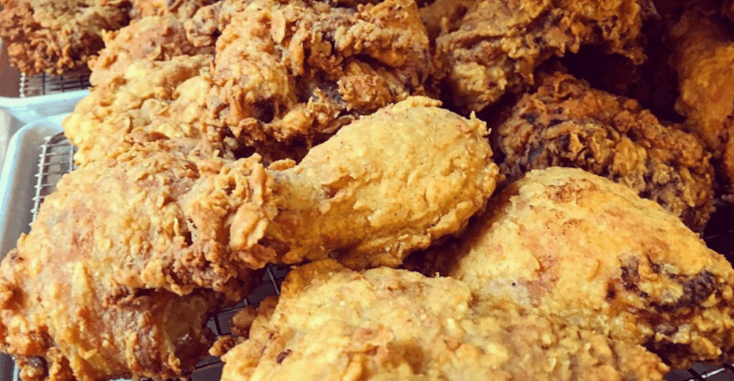 This Calgary fried chicken restaurant is offering FREE chicken... to the UK
