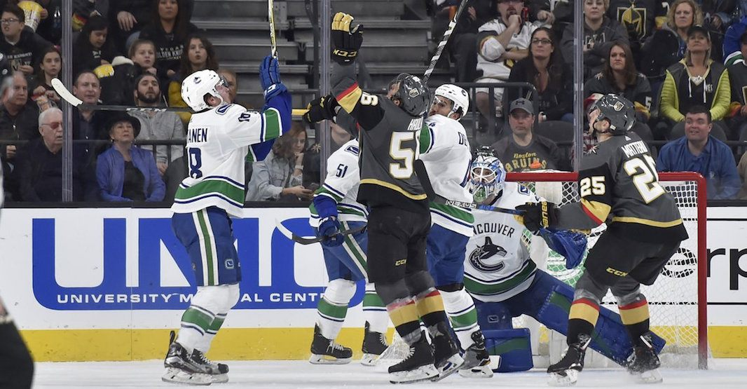 Canucks golden knights