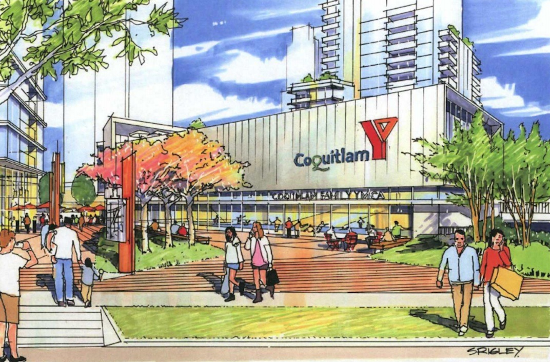 8 towers with 2 700 homes and ymca recreational centre for Garden city ymca pool schedule