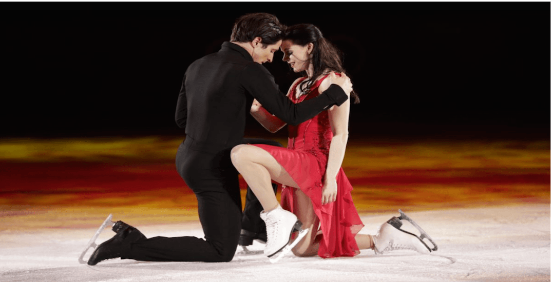 Tessa and Scott are coming to skate in Vancouver this spring