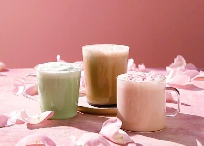 New Teavana Tea Lattes