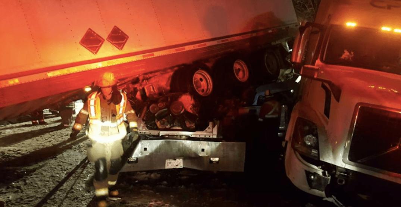 Multi-vehicle crash shuts down Coquihalla Highway Sunday night