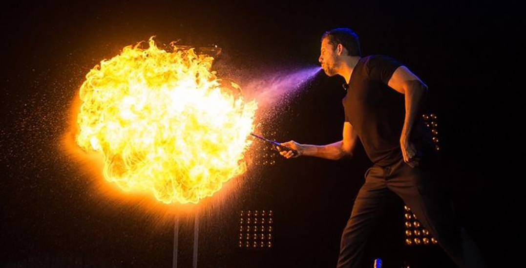 David Blaine is bringing his TV magic to life in Vancouver