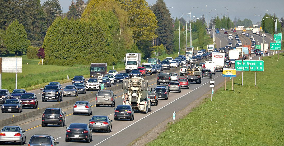 Congestion on vancouver roadsshutterstock
