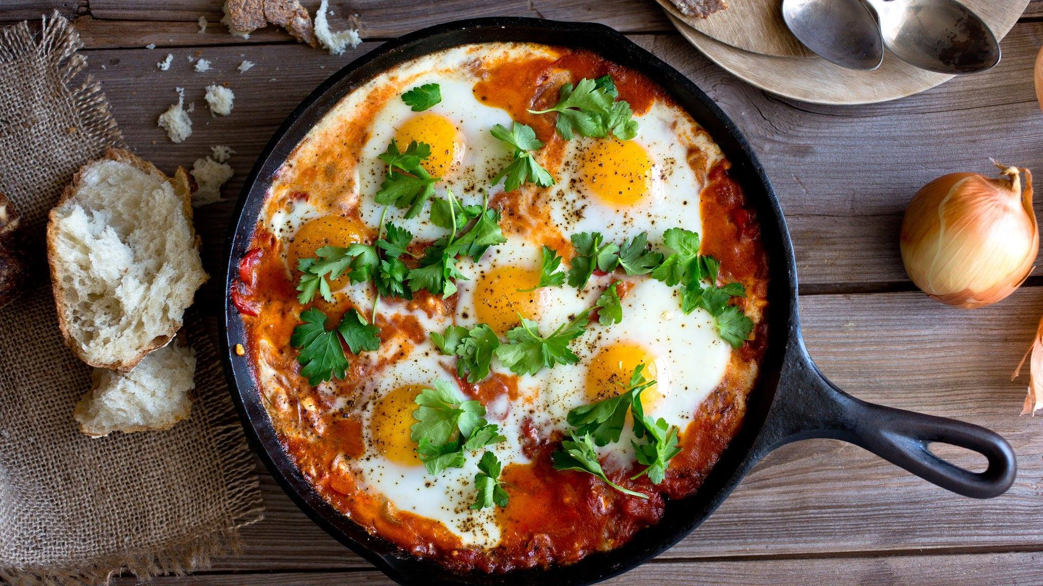 shakshuka breakfast brunch