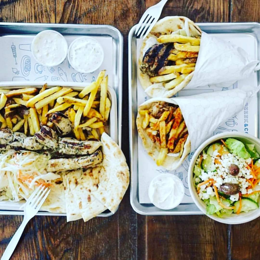 Greek & Co. gyros souvlaki