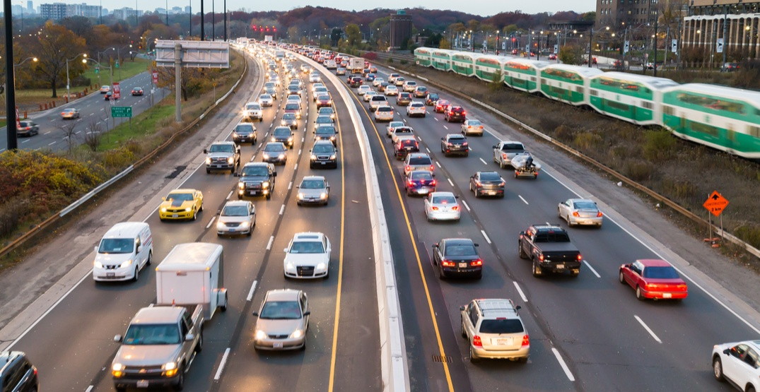 Toronto ranked second most congested city in Canada: study
