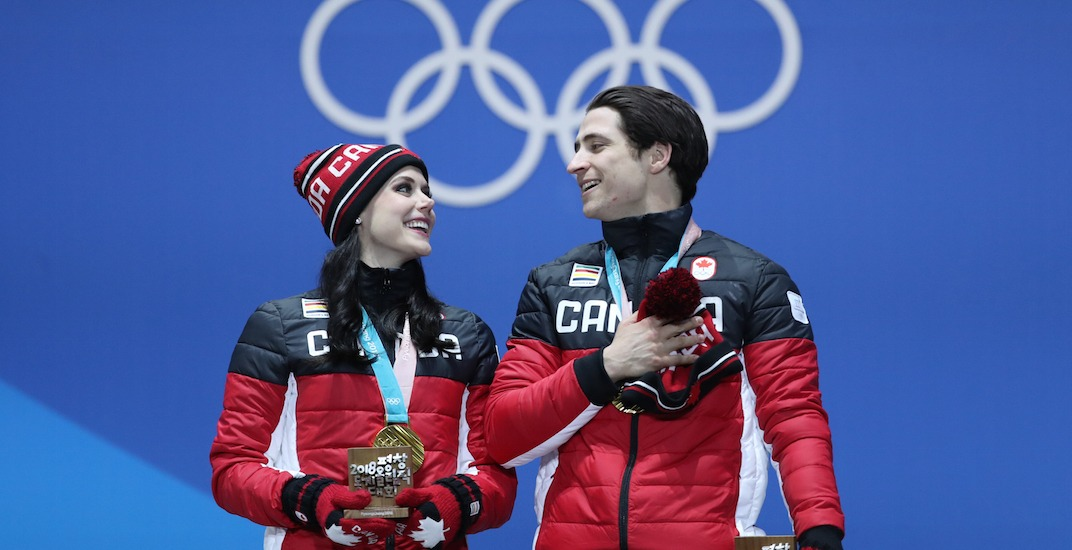 Virtue and Moir pretty much broke Twitter during the Olympics