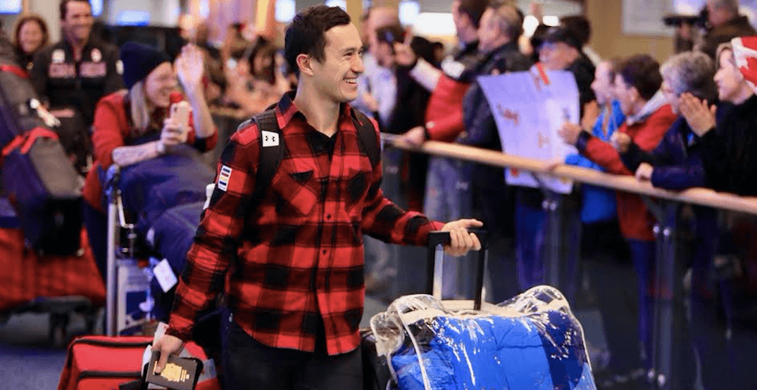 BC Olympians receive warm welcome home at YVR (PHOTOS)