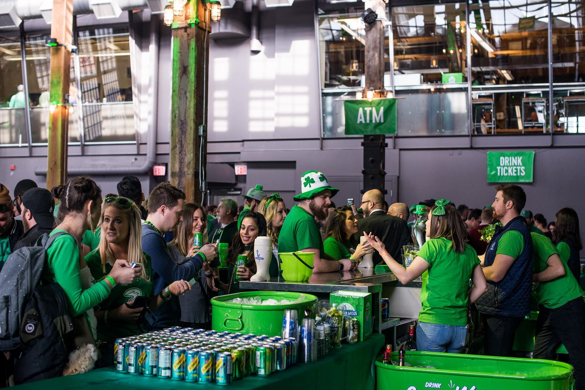 Steam Whistle Pilsner St. Patrick's Day