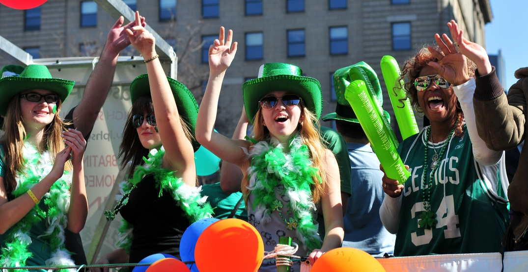 Montreal's biggest St. Patrick's Day party is happening at Maisonneuve Boulevard