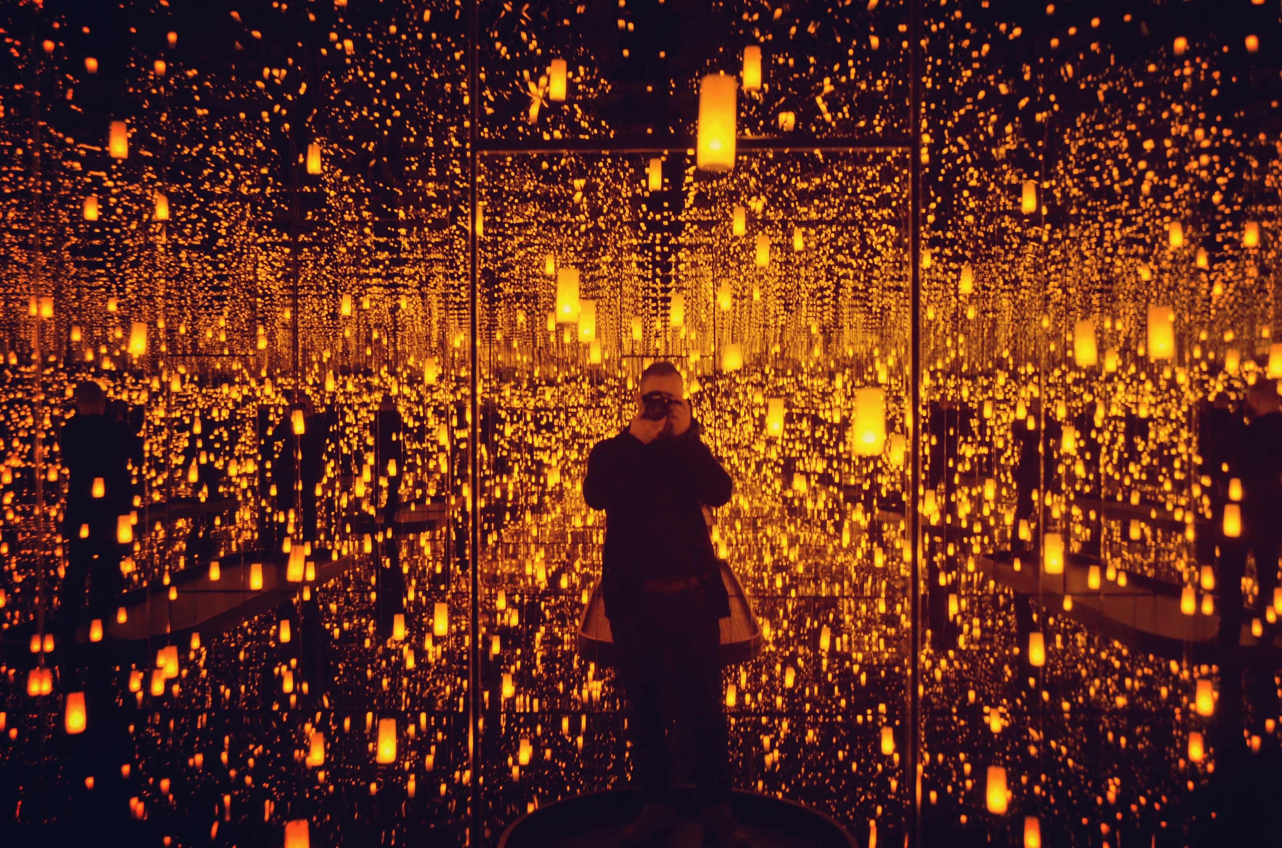 It's the last week to catch Yayoi Kusama: Infinity Mirrors at the AGO