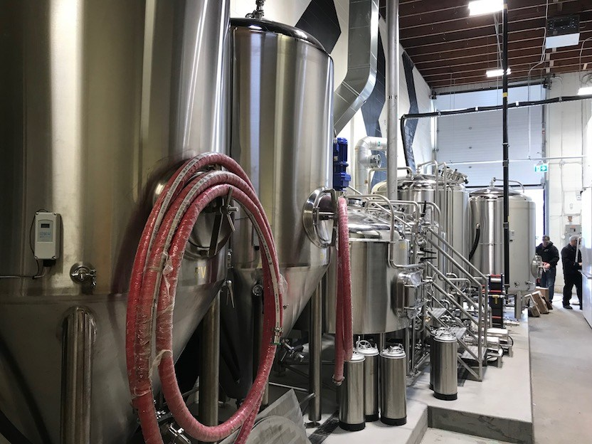 Inside Electric Bicycle Brewing