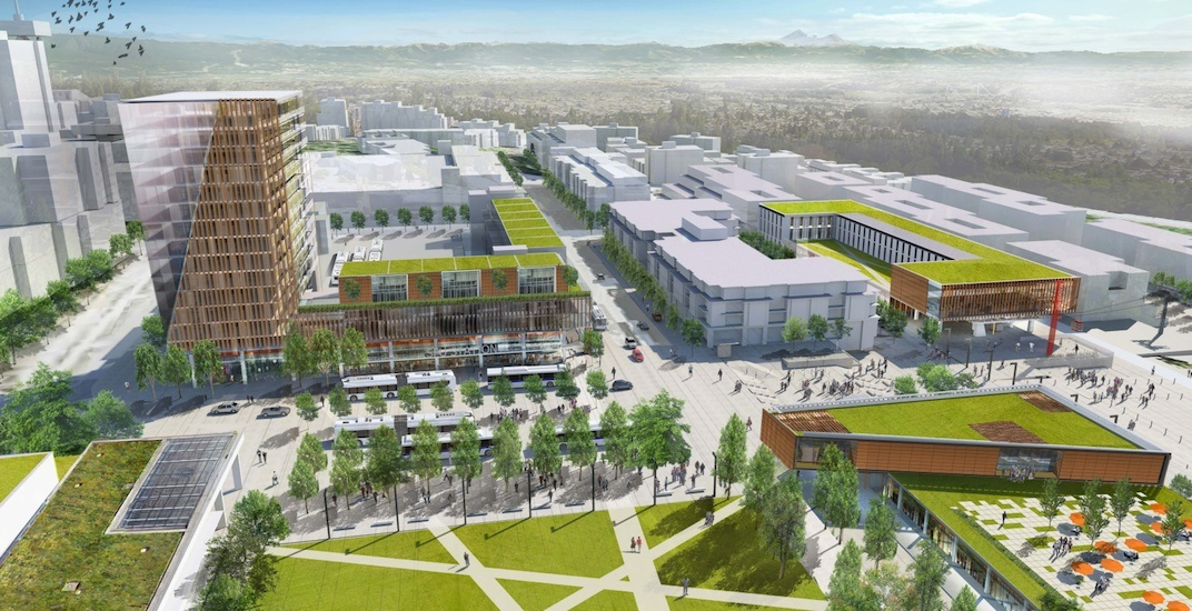 SFU Burnaby campus set for major transformation with gondola (RENDERINGS)