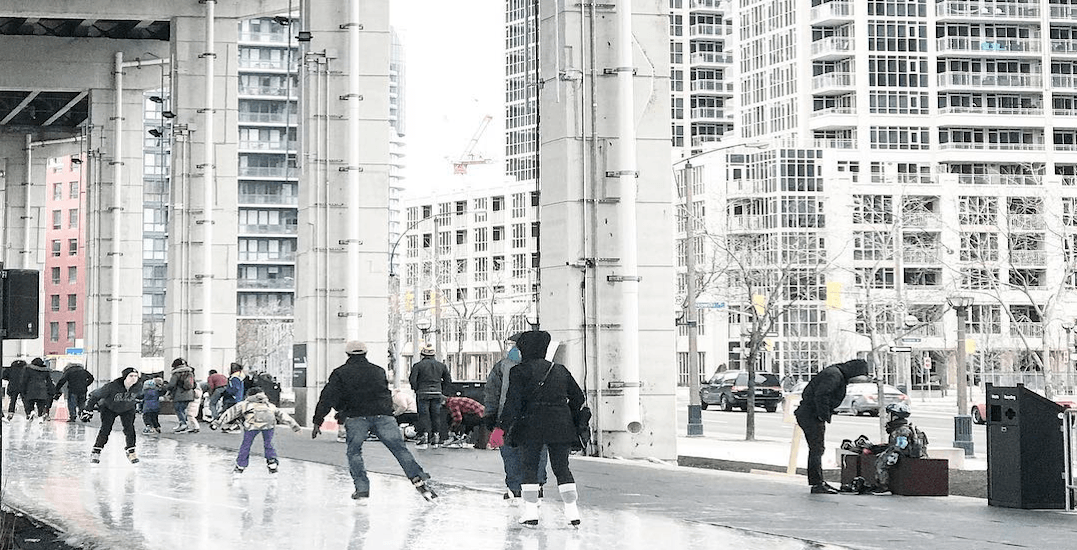 Early spring weather forces The Bentway Skate Trail to close prematurely
