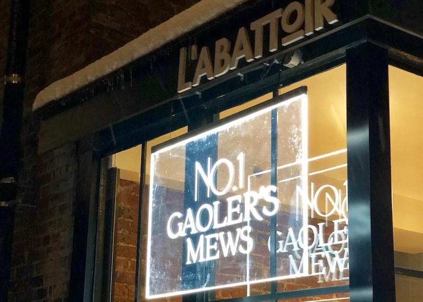 No. 1 Gaoler's Mews