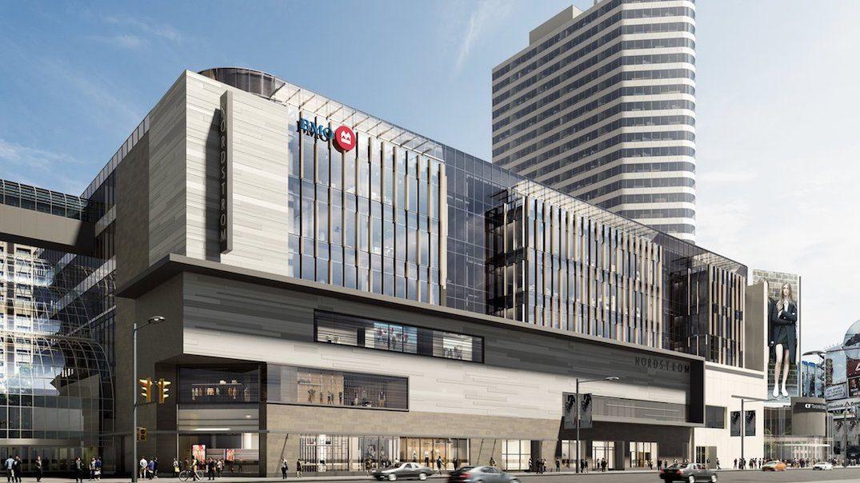 BMO building sprawling 'urban campus' at the Toronto Eaton Centre