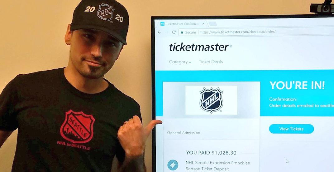 Potential Seattle NHL expansion team is selling season tickets FAST