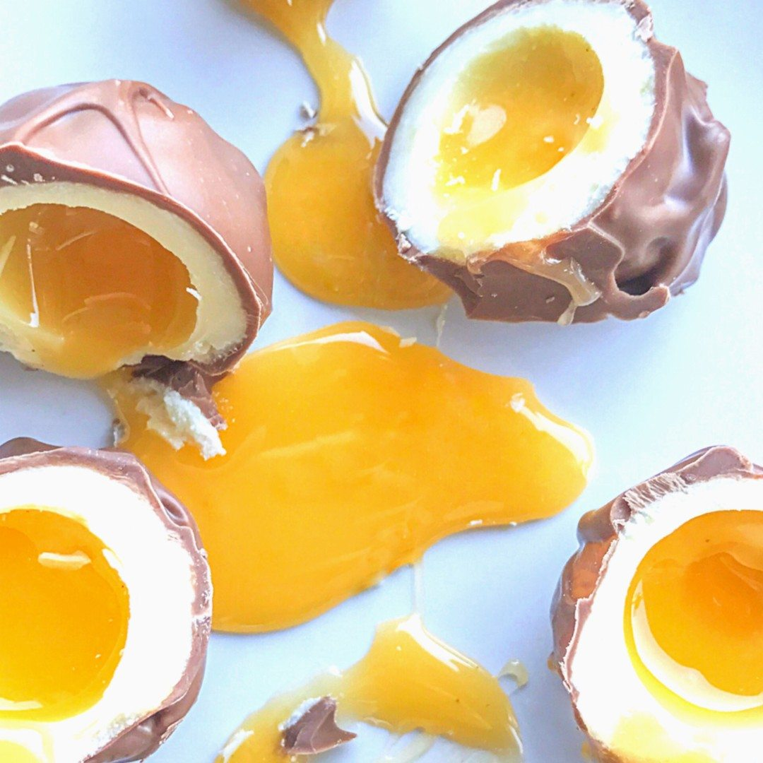 creme egg bownie easter
