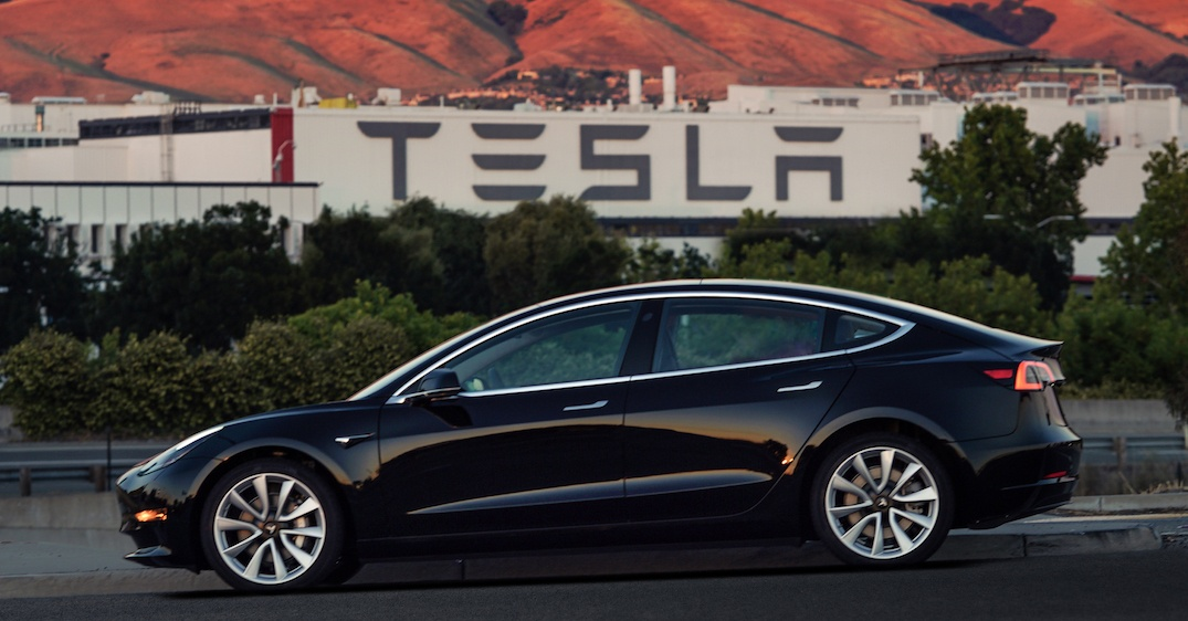 First production model 3 vin001