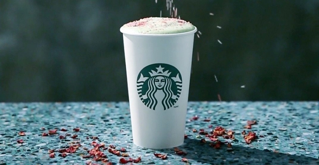 Starbucks sprinking