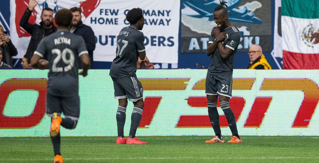 Whitecaps' Alphonso Davies scores his first-ever goal in MLS (VIDEO)