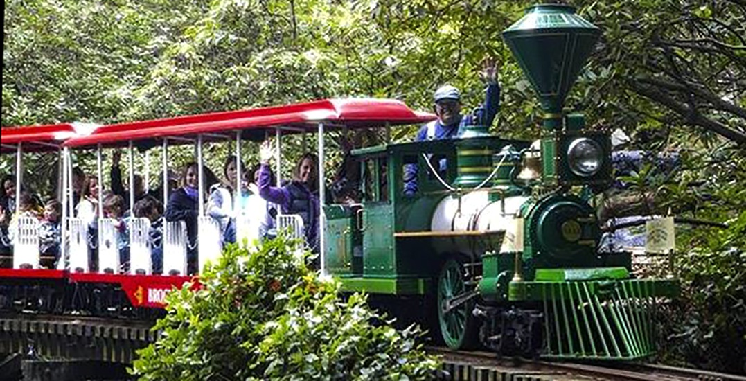 Stanley park easter train