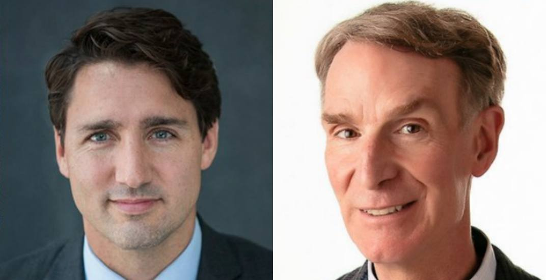 Trudeau sitting down with Bill Nye the Science Guy tomorrow
