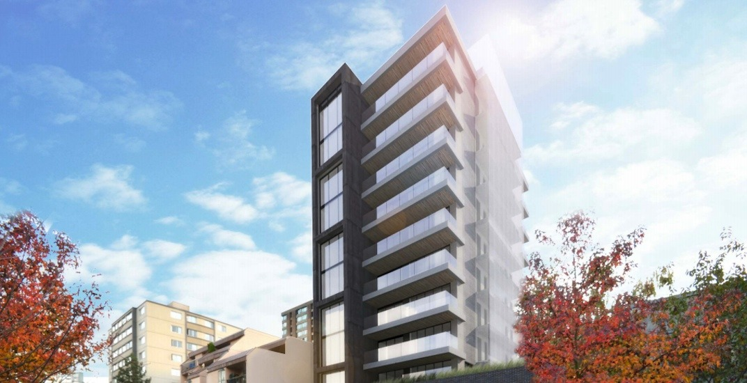 11-storey market residential building proposed for West End
