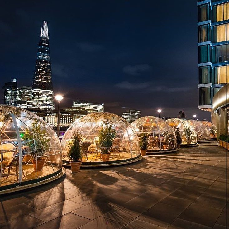 An Incredible 'garden Dome' Pop-up Dinner Is Coming To