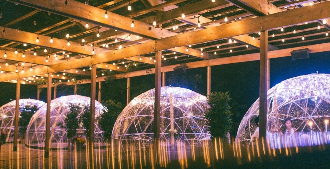 An Incredible Garden Dome Pop Up Dinner Is Coming To