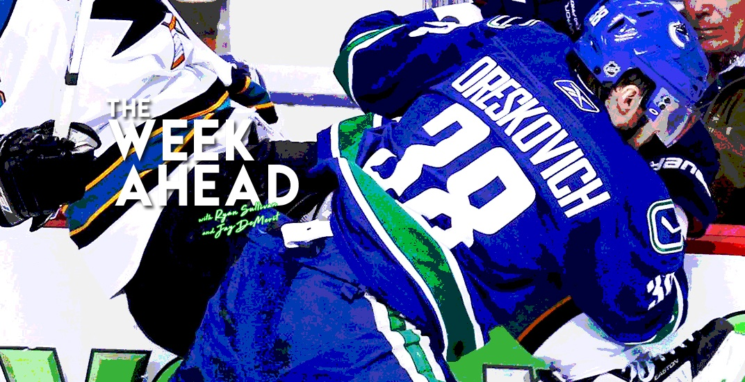 The Week Ahead: Victor Oreskovich relives the Canucks' run to the 2011 Stanley Cup Final