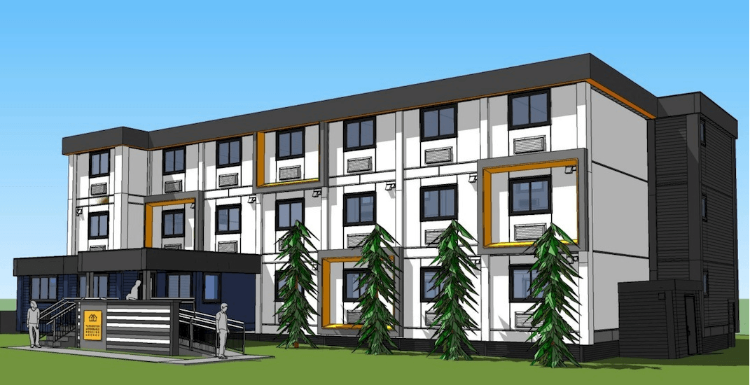 City approves 39 new units of modular housing in East Vancouver