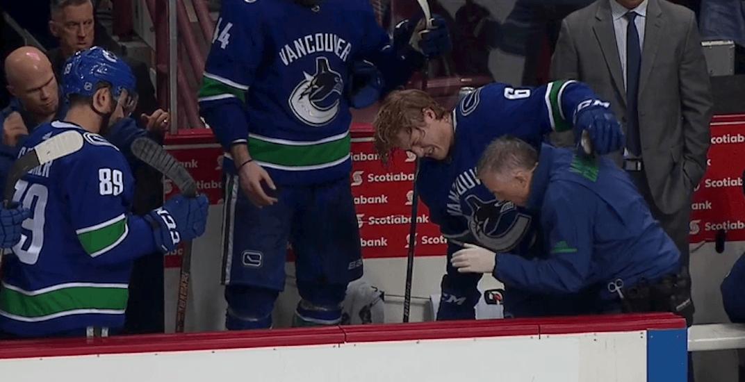 Canucks provide injury update on Brock Boeser
