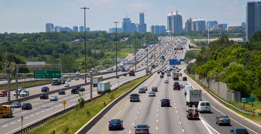 18 kms of the 401 to be expanded up to 12 lanes to ease congestion