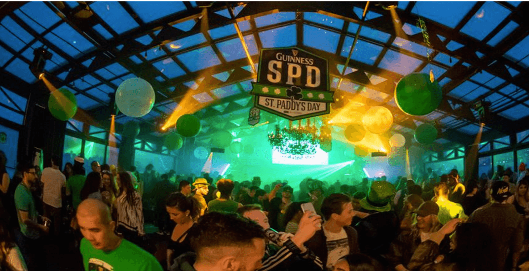 Canada's largest St. Patrick's Day party is taking over Toronto's waterfront next weekend