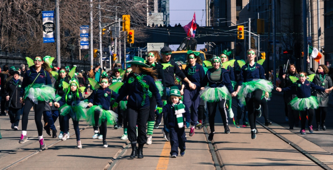 The St. Patrick's Day parade returns to Toronto this Sunday (MAP)
