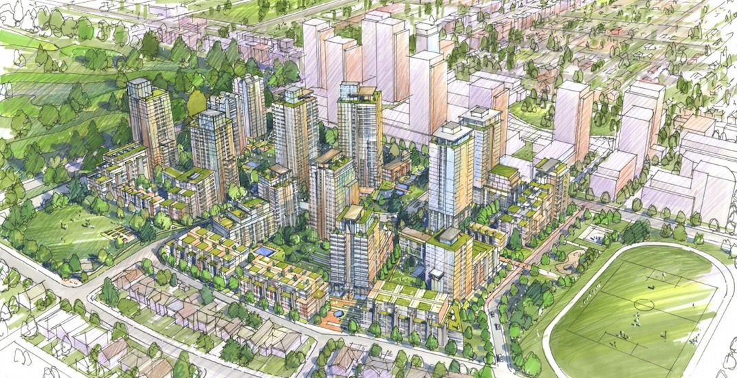 Major redevelopment with 2,100 homes proposed for Vancouver's Langara Gardens