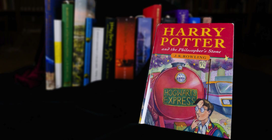 UBC spends nearly $50,000 on rare first edition Harry Potter book