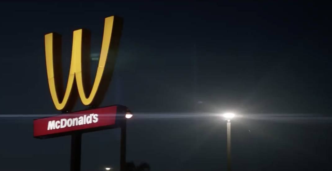 internet loses it after mcdonald s flips golden arches for women s