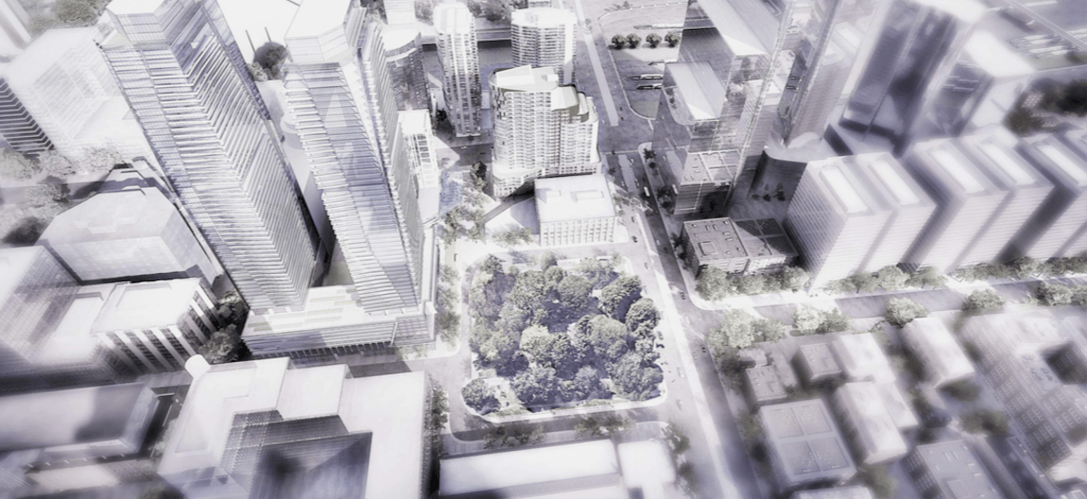 Three towers are being proposed at Front and Spadina (RENDERINGS)