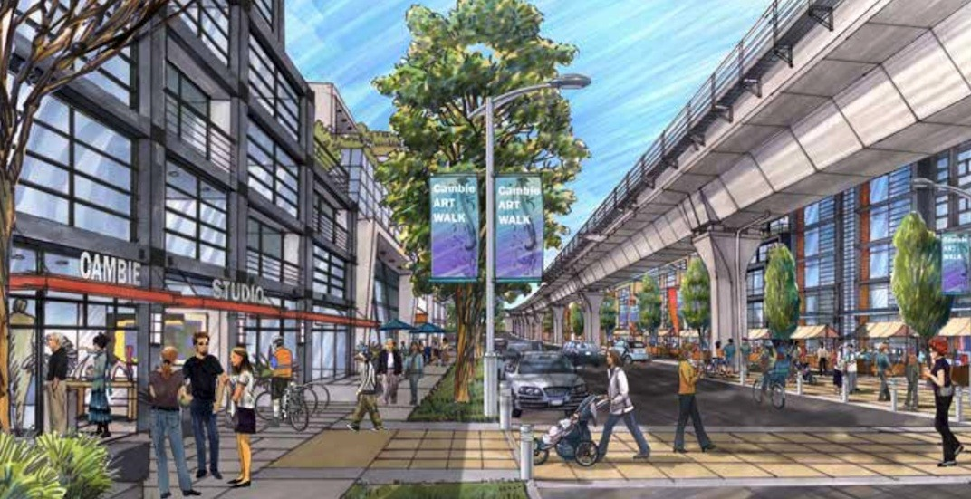 Cambie Corridor to house 50,000 more people from new density (MAPS, RENDERINGS)