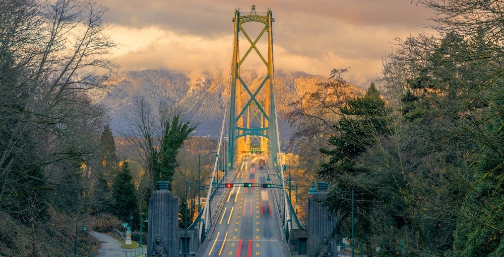 There will be lane closures on the Lions Gate Bridge tonight