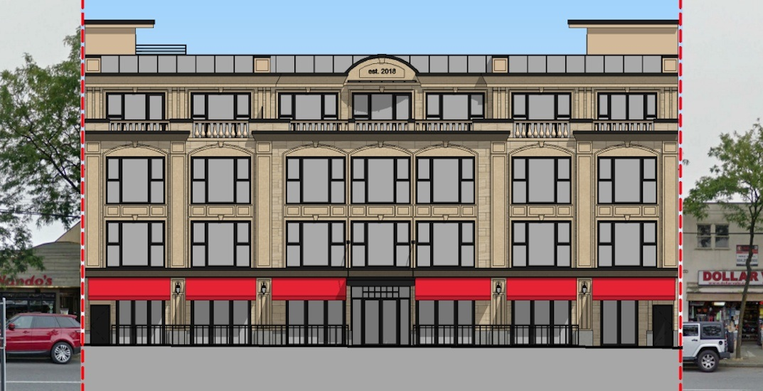 Boutique hotel building with 'classic architecture' proposed for Kerrisdale