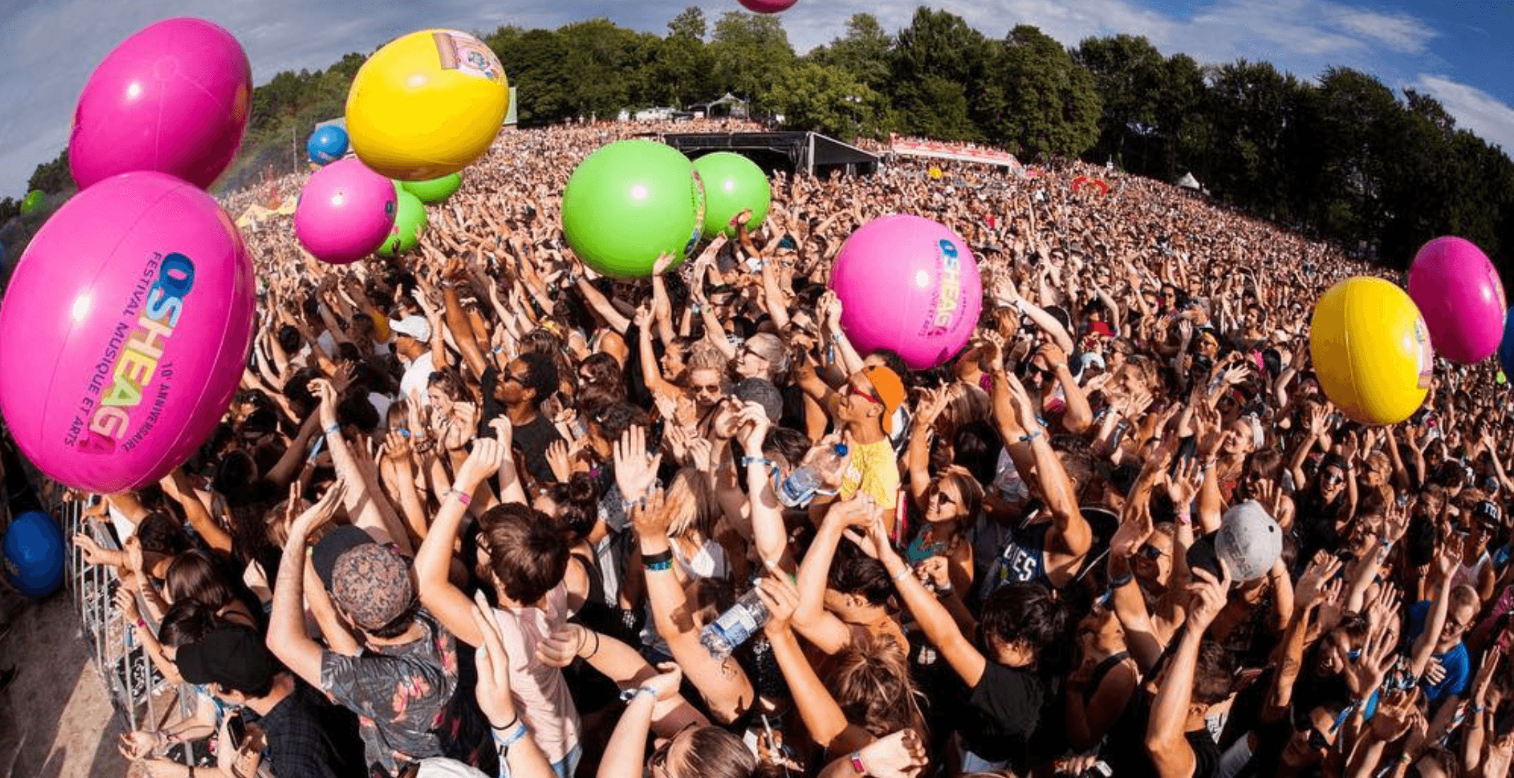 Osheaga and its joint festivals will not use plastic straws this summer