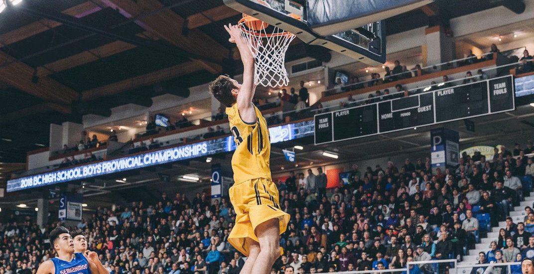 Burnaby south basketball 2018