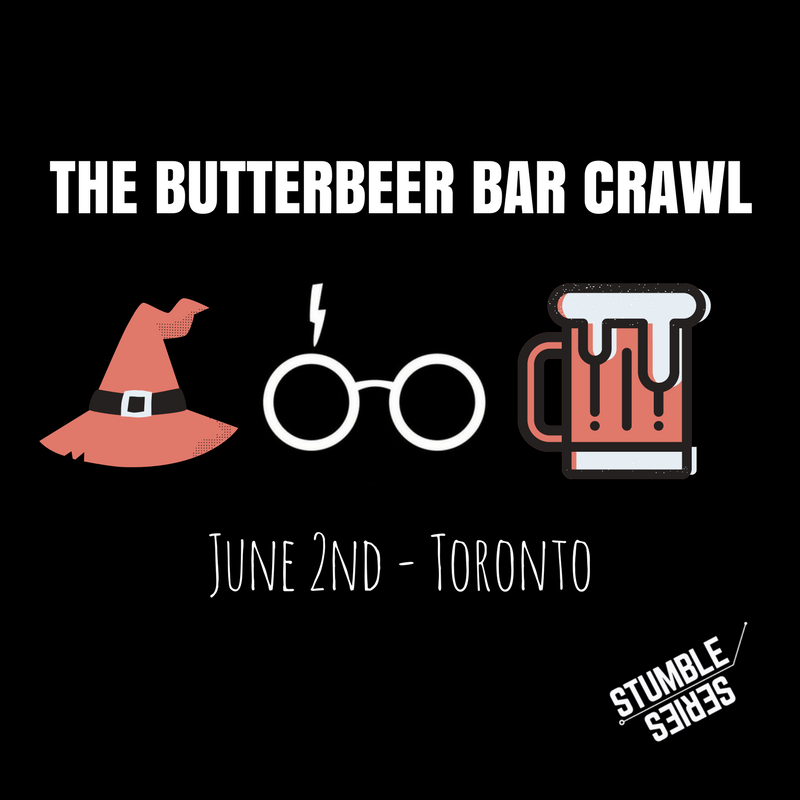 harry potter Butterbeer Bar Crawl